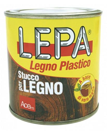 'LEPA' legno plastico. Color noce scuro. 250 gr