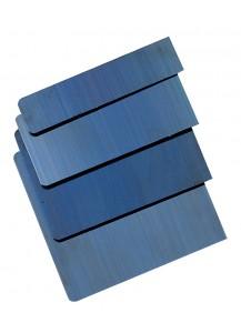 Spatole milanesi in acciao blu