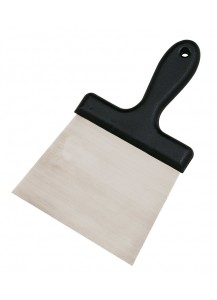 Spatola con lama in acciaio e manico in plastica per soffitt