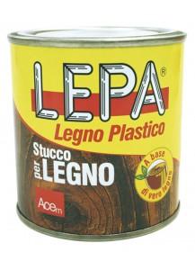 'LEPA' legno plastico. Color noce chiaro 250 gr