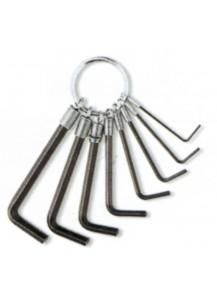 Set chiavi esagonali 8 pezzi in cromovanadio