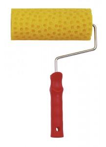 Rullo in spugna gialla a nido d'ape