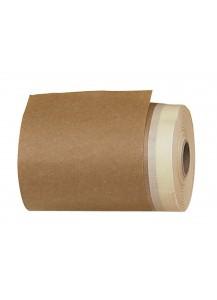 Rotolo ricambio carta con adesivo. Misura: 20x18 cm