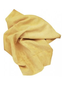 Pelle scamosciata naturale. Misura 67x44
