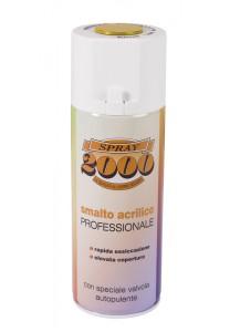 Bomboletta spray acrilica 400 ml. satinato bianco opaco