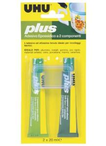 UHU plus, adesivo epossidico a due componenti