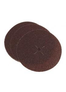 Dischi di carta abrasiva con velcro. grana 240